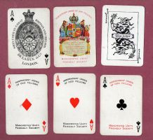 Collectible Advertising playing cards. Manchester Unity.Friendly Society